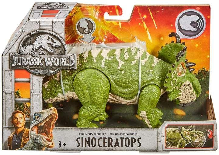Jurassic World Fallen Kingdom Roarivores Sinoceratops Jurassic Park Mattel NEW