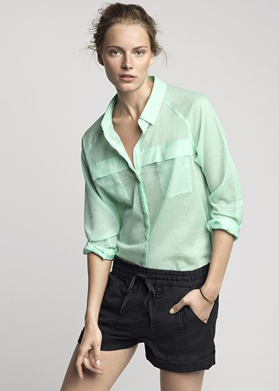 Country Road Summer 2012 WOMAN- love the mint top