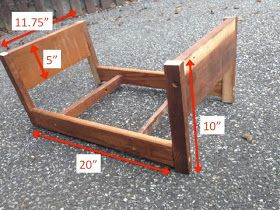 Two It Yourself: DIY Doll Bed for American Girl from Scrapwood