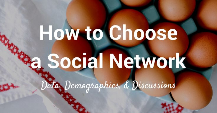 How to choose the right social network for your business via Buffer.