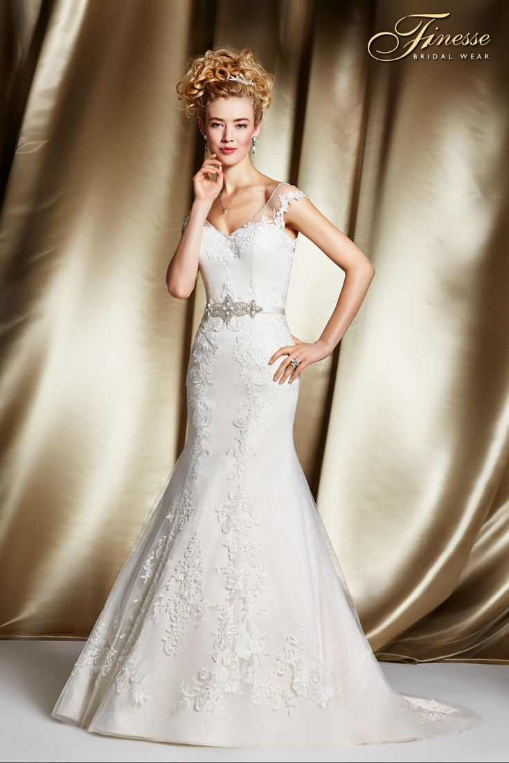 22 Best Fit And Flare Wedding Dresses Images On Pinterest