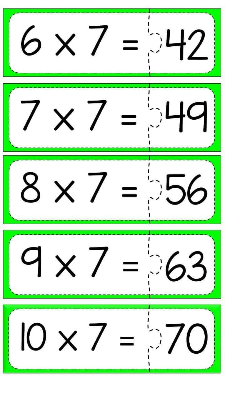 754 best Çarpma dosyası images on Pinterest | Math activities ...