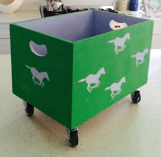A beautiful fresh green box for a little girl that loves horses  #greenbox #freshgreen #greendecor #horsedecor #horsebox #littlegirl #antibesgreen #anniesloan #decor #interiors #nursery #kidsroom - Architecture and Home Decor - Bedroom - Bathroom - Kitchen And Living Room Interior Design Decorating Ideas - #architecture #design #interiordesign #diy #homedesign #architect #architectural #homedecor #realestate #contemporaryart #inspiration #creative #decor #decoration