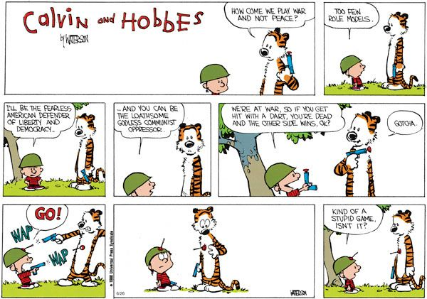 I Knew Calvin And Hobbes Was More Than A Silly Strip Bill
