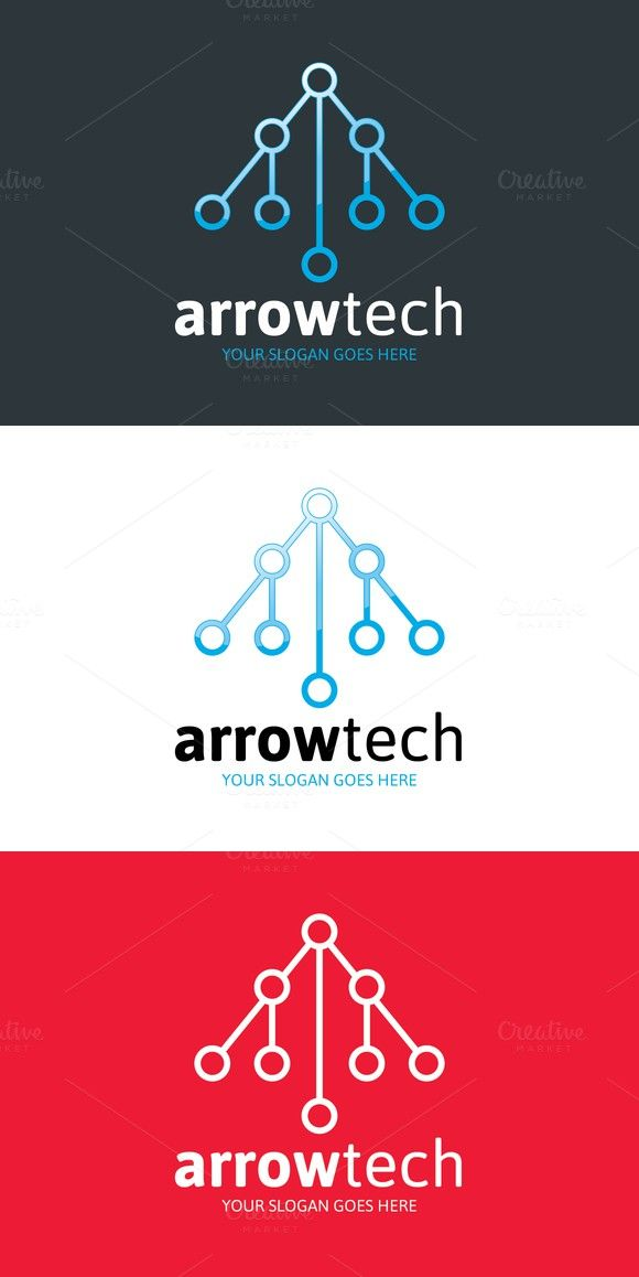 Arrow Tech Logo - Letter A