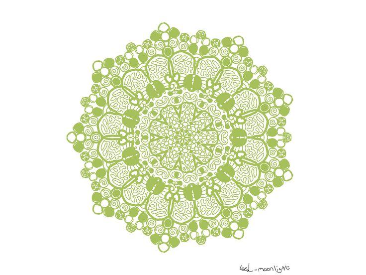 Mandala Green