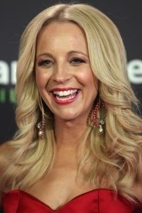 Beautiful curls like this will last all night with the KEUNE Graphic hair spray, hold factor of 9 and shine factor of 7     Carrie bickmore logies 2012