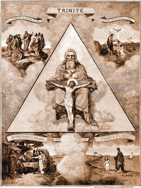 The Trinity is a doctrine not taught in the Bible but adopted by many in Christendom and originated as a part of pagan worship. Christendom simply picked up the idea to win over the pagans. They suddenly made Jehovah, Jesus and the Holy Spirit 3 persons in one godhead. (4th C. C.E., Council of Constantine). ~ for more info see jw.org