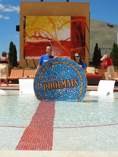 23 best images about custom pool graphics events on for Pool show atlantic city
