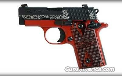 Lady In Red - Sig Sauer P238 .380ACP   Guns > Pistols > Sig - Sauer/Sigarms Pistols > P238 Find our speedloader now! http://www.amazon.com/shops/raeind