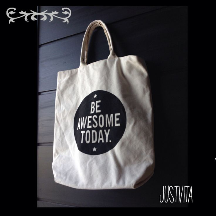 canvas bag handmade @justvitaonline