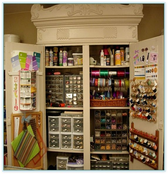 17 best images about makerspace and emerging technologies for Arts and crafts storage cabinet