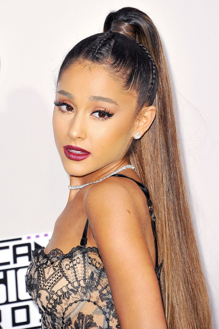 Ariana Grande may be known for her high ponytails, but she's also proved to ...