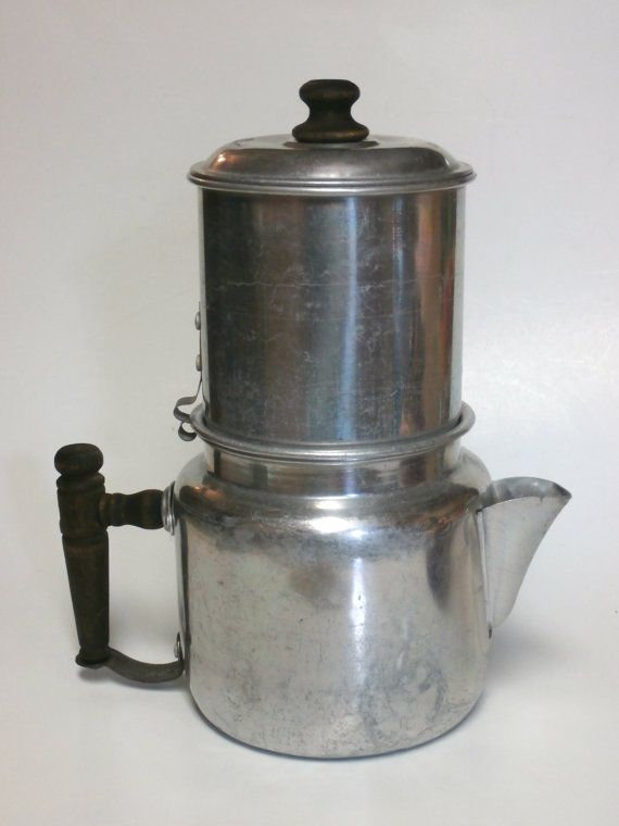 How To Use Non Electric Coffee Maker : Vintage Drip-O-Lator Non Electric Coffee Maker Eco Friendly Circa early 1930 s Coffee, Vintage ...