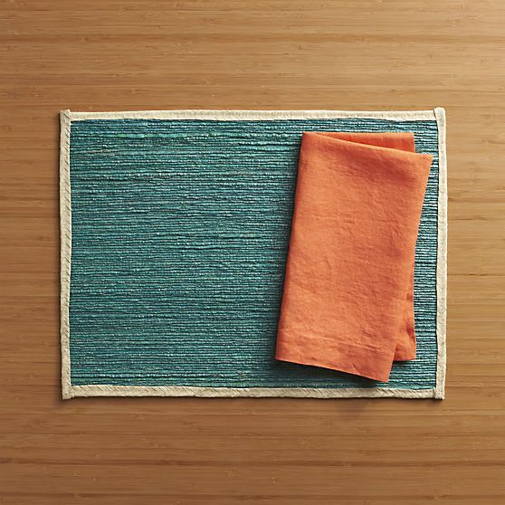 Kitchen Dining Placemat Sets For Dark Wood Tables