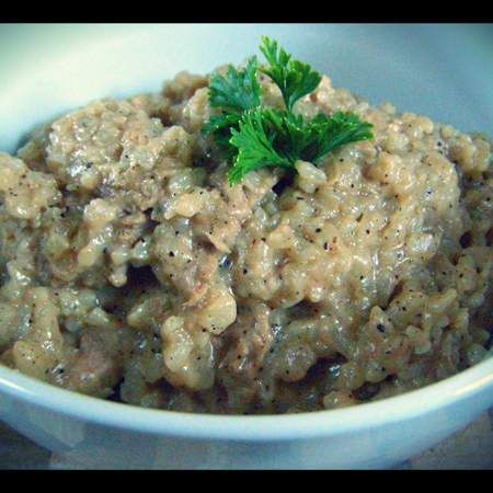Recipe Pork Fillet in Wattle Seed Risotto by Thermo Mixin' in the Kitchen - Recipe of category Main dishes - meat