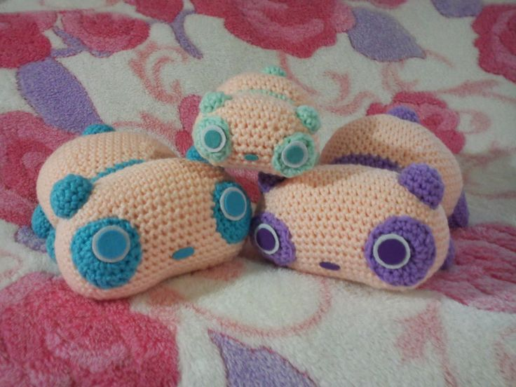 Tare Panda Amigurumi Crochet Pattern : 1000+ ideas about Crochet Panda on Pinterest Crocheting ...