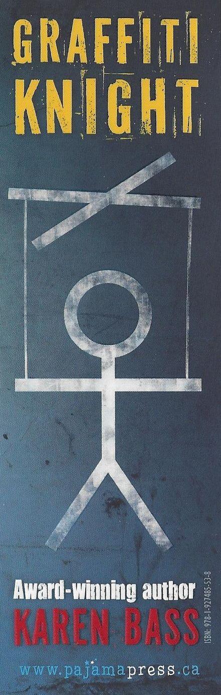 Karen Bass' Graffiti Knight bookmark.