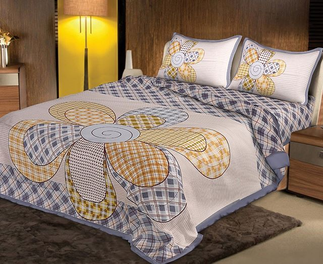 Twill Cotton Double Bedsheet Size 100108 Order On Whatsapp 98880