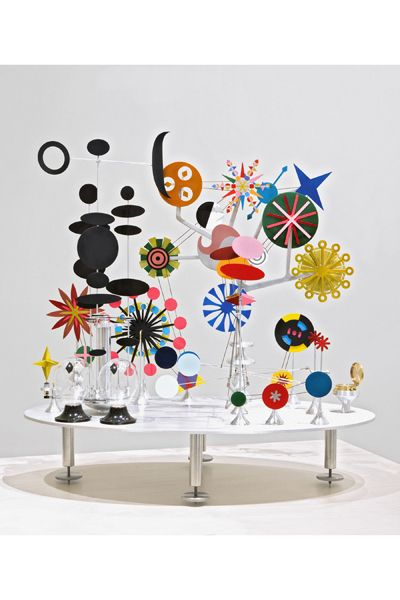 """Edgar Olaineta, """"Solar Do-(It-Yourself) Nothing Toy, After Charles Eames,"""" 2012, from the """"Factory Direct: Pittsburgh"""" exhibition."""