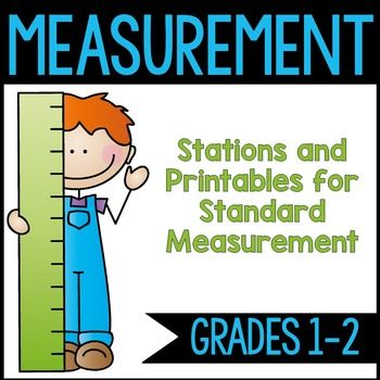 Measurement unit for measuring centimeters, inches, yards, and meters. This item is part of a 2nd grade math bundle!