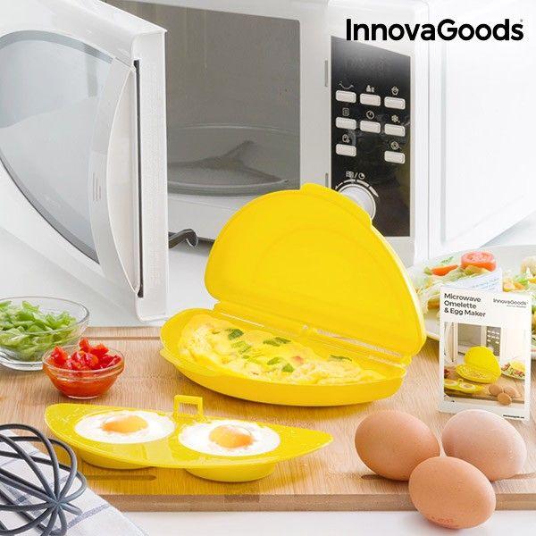 Innovagoods boilegg cuiseur pour les micro-ondes