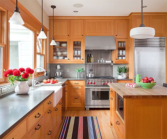 Kitchen Cabinets Wood Colors 105 best *wood* cabinets images on pinterest | dream kitchens