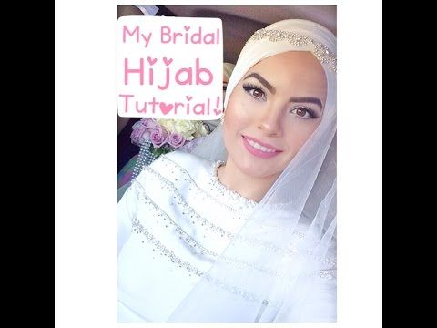 My Bridal Hijab Tutorial