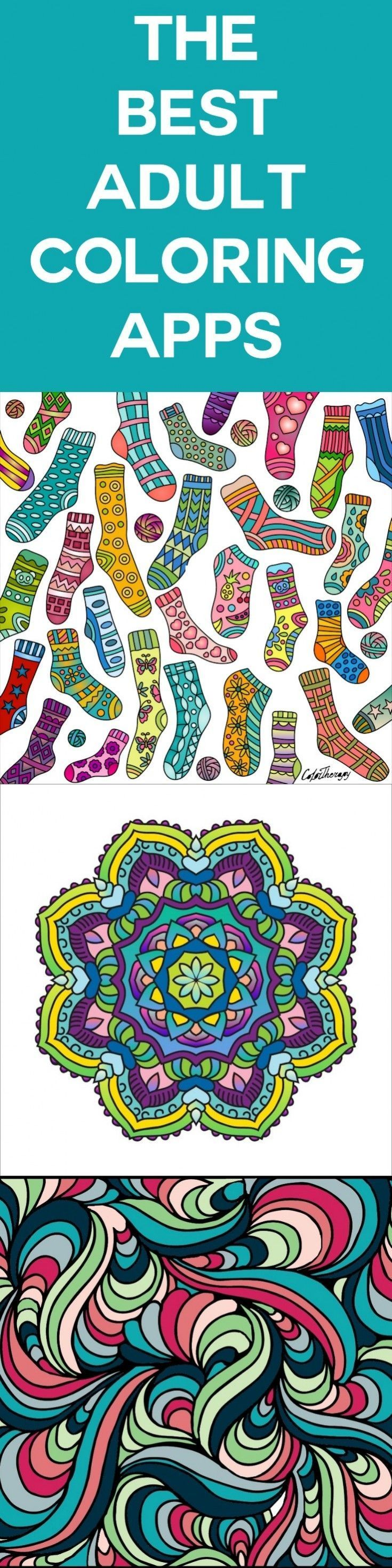 If you're hooked on the coloring craze, check out my reviews of nine adult coloring apps! Load these on your smartphone and use them while on the go. via @diy_candy