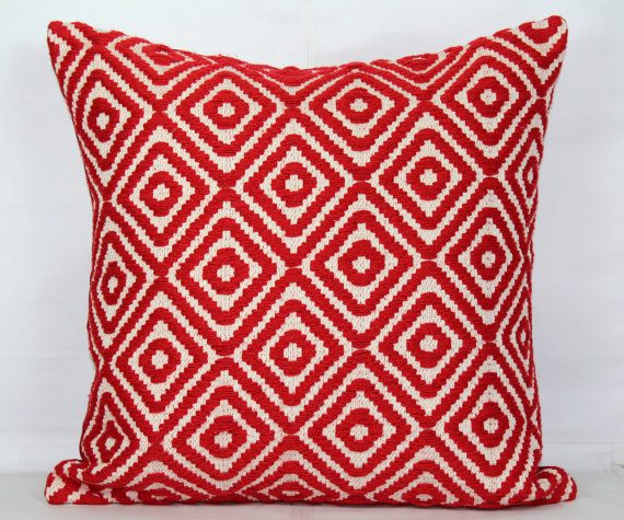 Red throw pillow covers 24x24 pillow covers 20x20 pillow covers 18 x 18 cushion cover 26x26 pillow cover decorative valentines gift for her