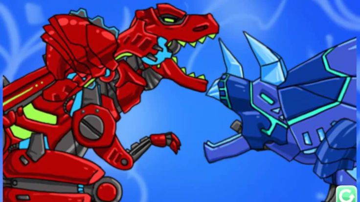 Динозавр - Робот - Гоночная машина - Экскаватор - Трансформер