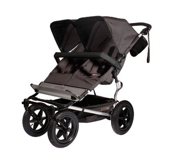 Mountain Buggy Duo - has more space & bigger wheels than the Duet, plus it has suspenion like the single Urban Jungle. This would be my pick for larger toddlers, and for jogging/off-roading.