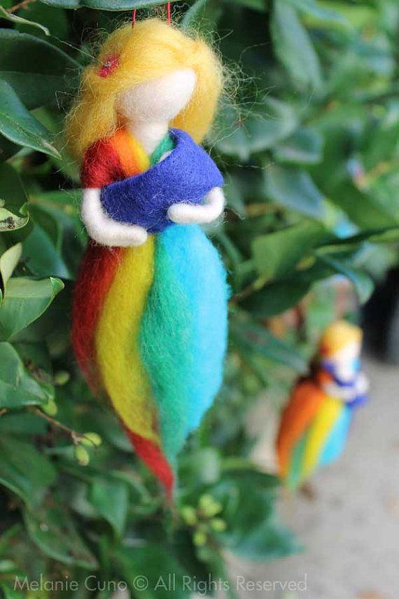 Babywearing Rainbow Goddess
