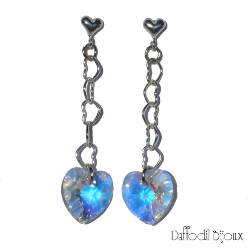 Shine with AB reflections!  Brillantezza con riflessi aurora boreale!  HANDMADE BY DAFFODIL BIJOUX