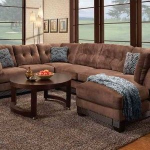 Wrap Around Sectional Sofa Couch With Recliner Studio Apartment Pinterest Living Room And