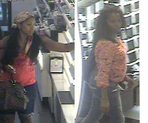 Cherry Hill Police: If anyone can recognize these females please call Det. Tomlinson at (856) 432-8828 or rtomlinson@cherryhillpolice.com. They stole approximately $1,000 in merchandise from the Sephora Store located inside the Cherry Hill Mall on June 7th.
