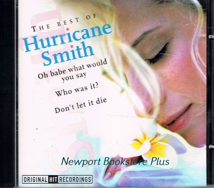 The Best of Hurricane Smith 1998 Music CD #BritishInvasion