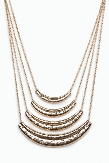 Captivate Tiered Necklace / ShopSosie accessorie jewelry necklace chain gold shopsosie