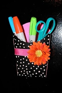 French Fry Pocket Redo.  Put a magnet on the back and stick to white board or chalkboard.