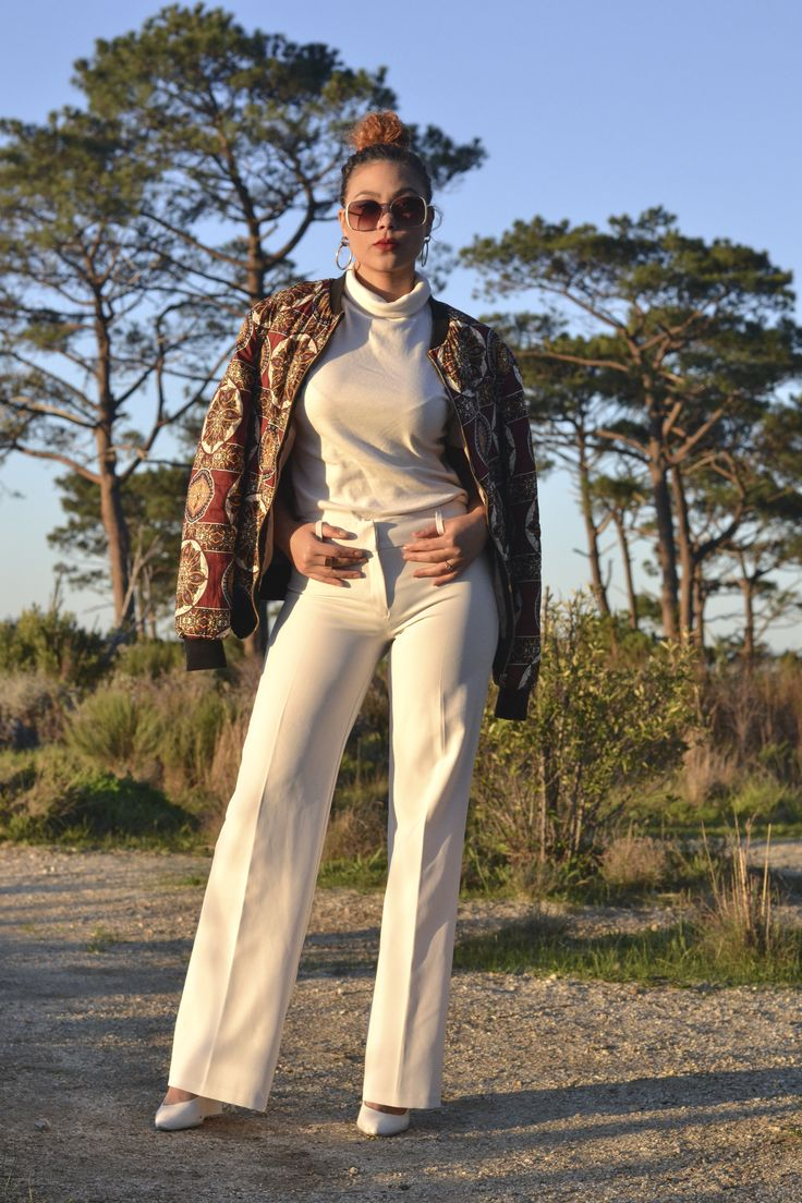 How to style your printed bomber