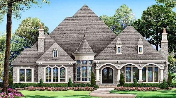 GRAY STONE House Plan - 4521