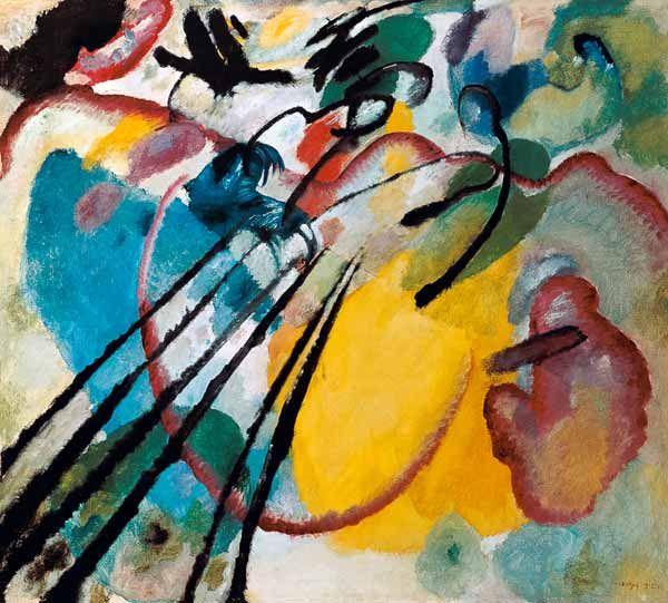 Titre de l'image : Vassily Kandinsky - Improvisation 26
