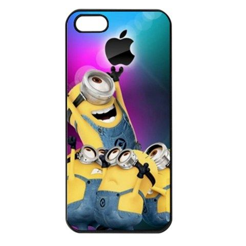 Nebula Galaxy Apple Despicable Me Minions iPhone 4 4s Case Cover | bestiphone5caseshop - Accessories on ArtFire