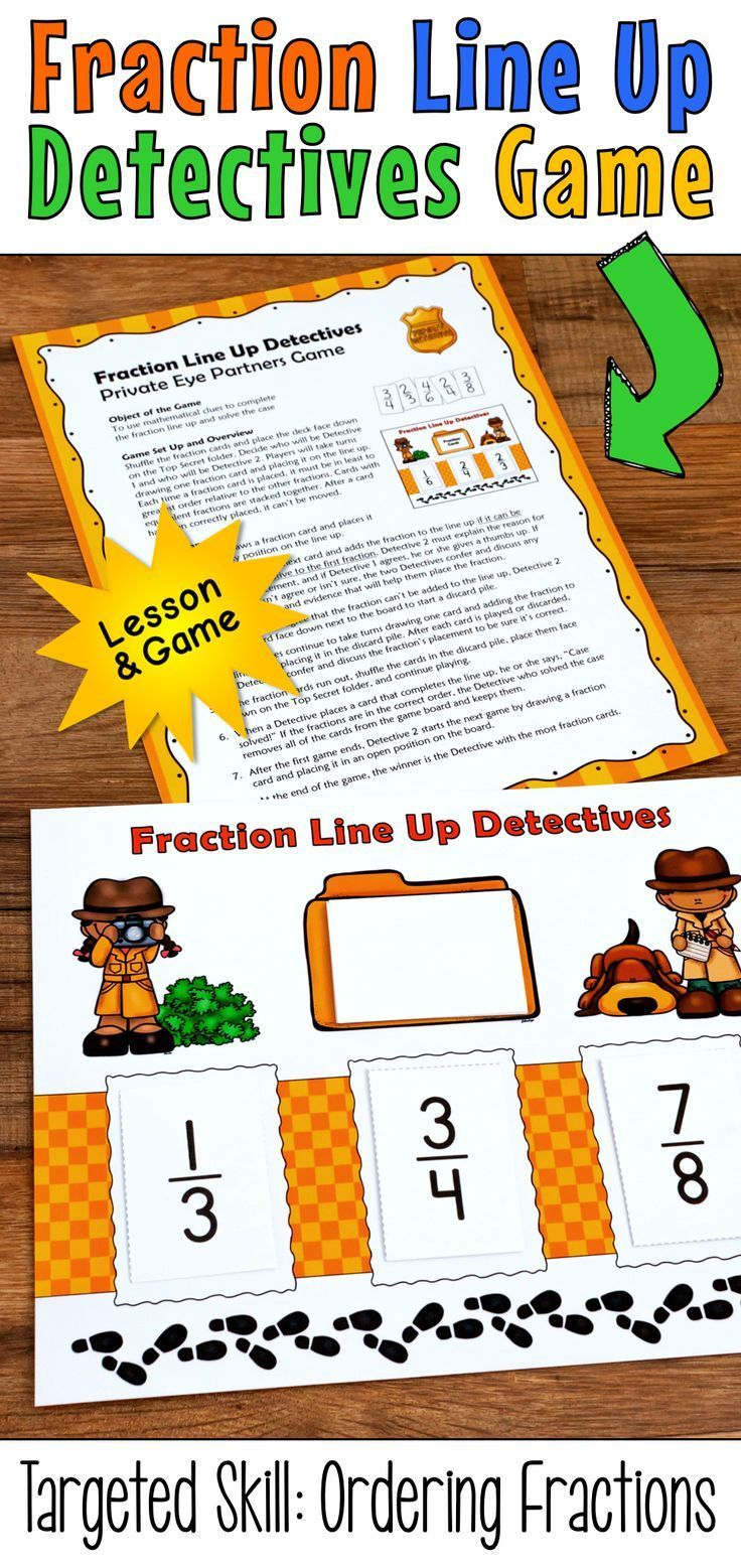 196 best top teaching resources 3rd 4th and 5th grade images on comparing and ordering fractions activities fraction line up lesson and game fandeluxe Images