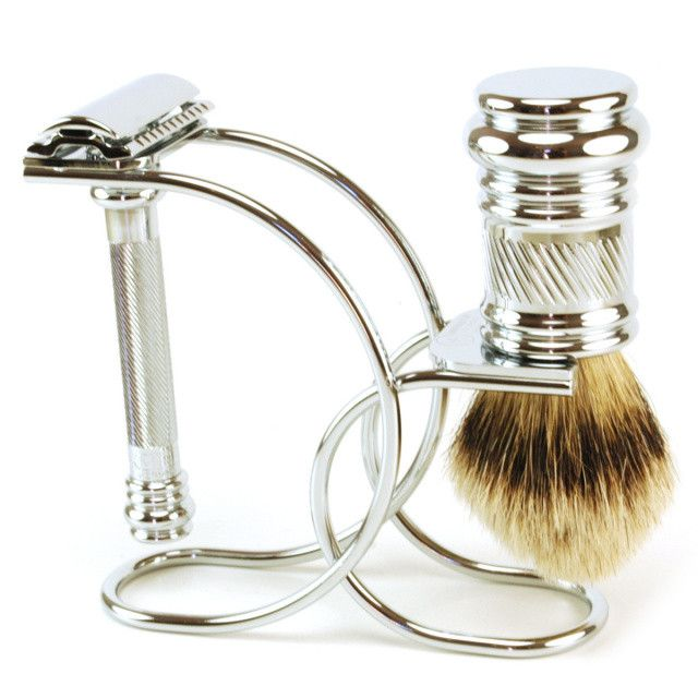 Classic Curve Merkur Barberpole Set – Classic Shaving