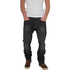 Urban Classics Black Coated Loose Fit Jeans
