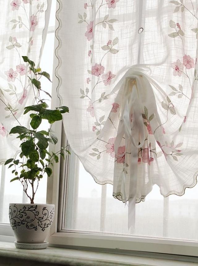 17 best images about curtains on pinterest balloon Shabby chic curtain window