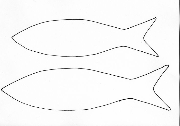 fish cutout template | Fish Template Others templates that are