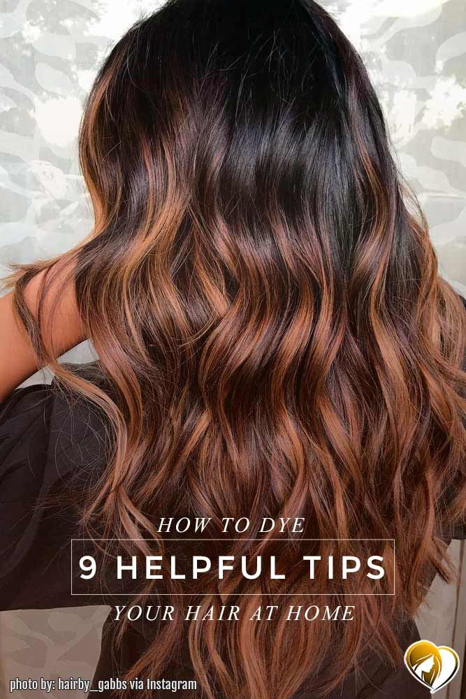 Helpful Tips on How to Dye Your Hair At Home ★ See more: http://lovehairstyles.com/how-to-dye-your-hair-at-home/
