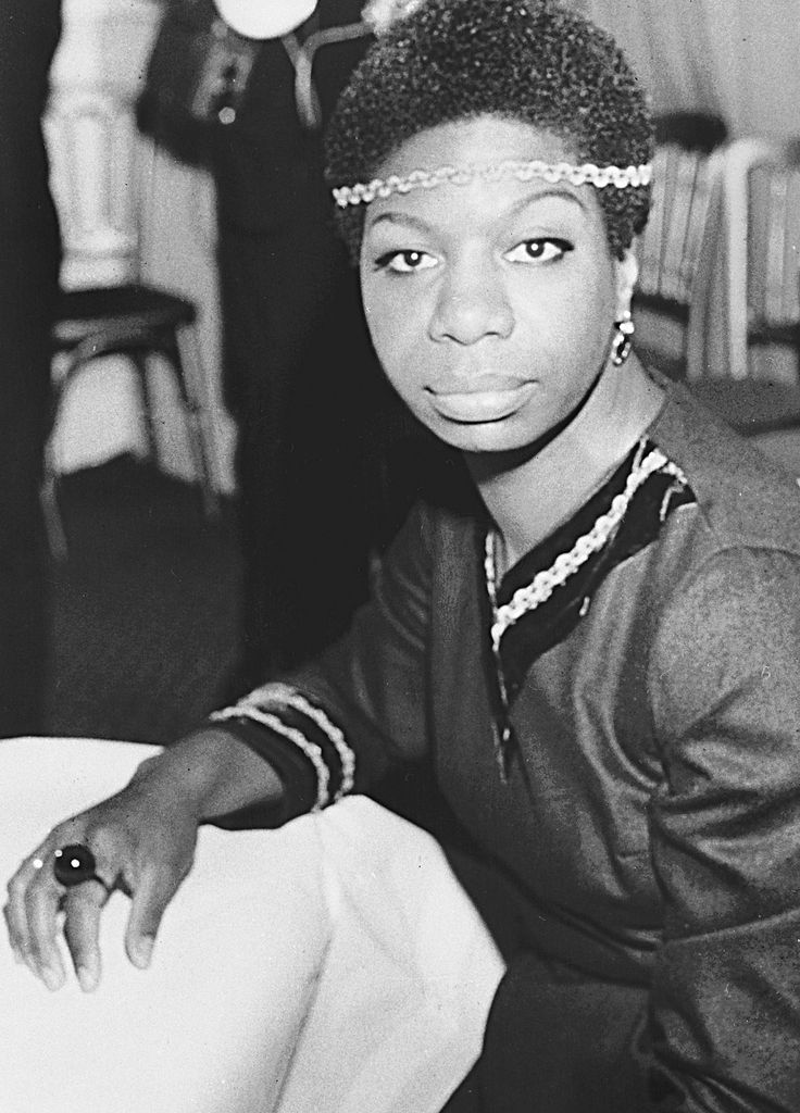 NINA SIMONE.  Born: Feb. 21, 1933 in North Carolina, USA. Died: April 21, 2003 (age 70) of natural causes in Bouches-du-Rhône, France. Legendary jazz & blues singer Simone, began recording her music in the late 1950s under the Bethlehem label, releasing her first full album in 1958. In the '60s, she became the voice of the civil rights and wrote songs about the movement. Her autobiography 'I Put a Spell on You,'  was published in 1992. Simone recorded heavily between 1974 and 1993.